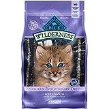 Blue Buffalo Wilderness High Protein Grain Free, Natural Kitten Dry Cat Food
