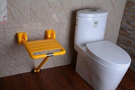 Shenchi bagno senza barriere da bagno sgabello da parete per il