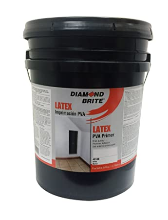 Diamond Brite Paint 40100 5 Gallon Interior/Exterior Latex PVA Primer Sealer