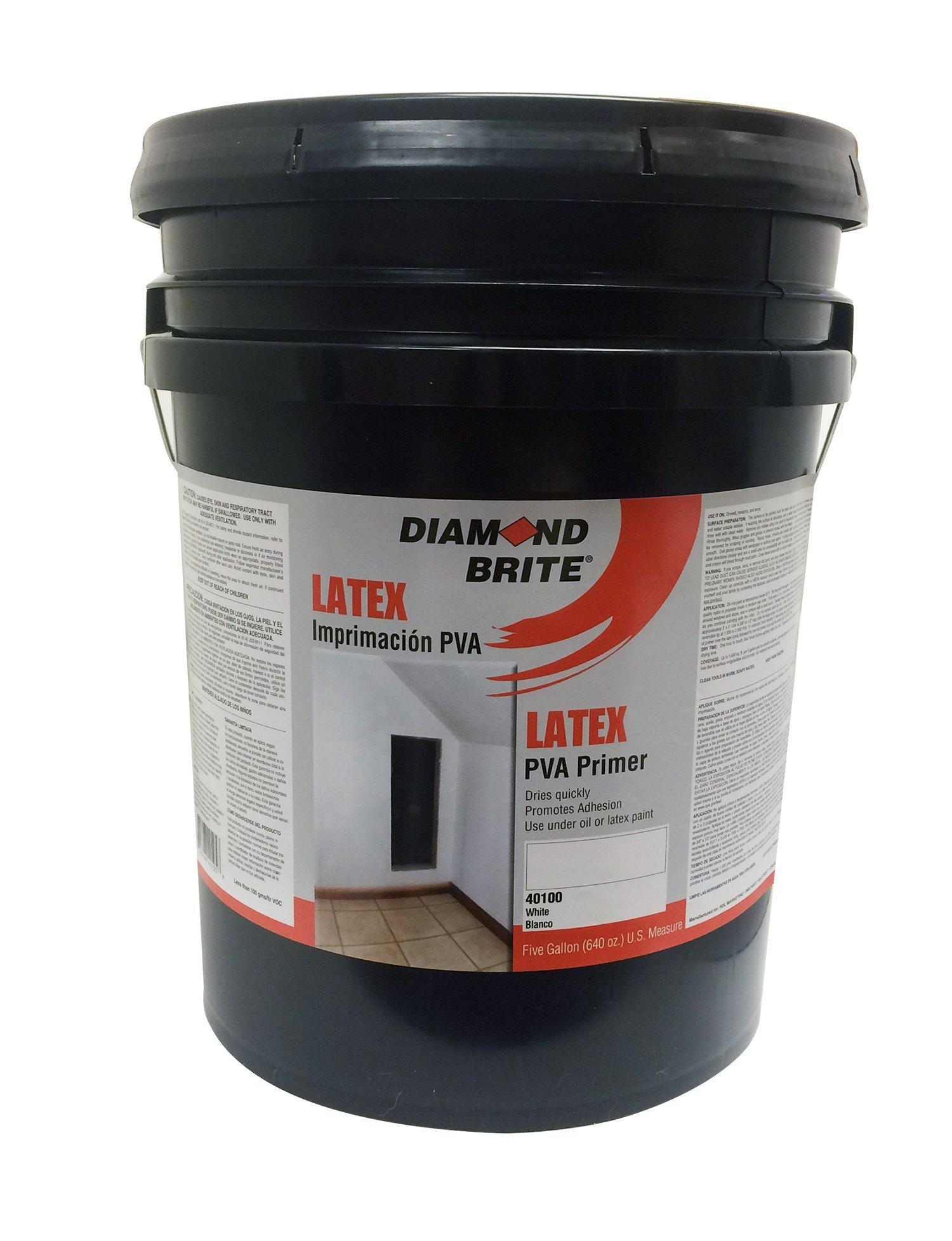 Diamond Brite Paint 40100 5-Gallon Interior/Exterior Latex PVA Primer Sealer