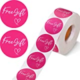 1000 Pieces Customer Appreciation Stickers Small Business Sticker Roll Round Self-Adhesive Stickers Labels for Packing Mailin