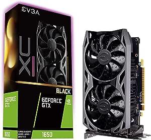 EVGA GeForce GTX 1650 XC Ultra Black Gaming, 4GB GDDR5, 04G-P4-1155-KR
