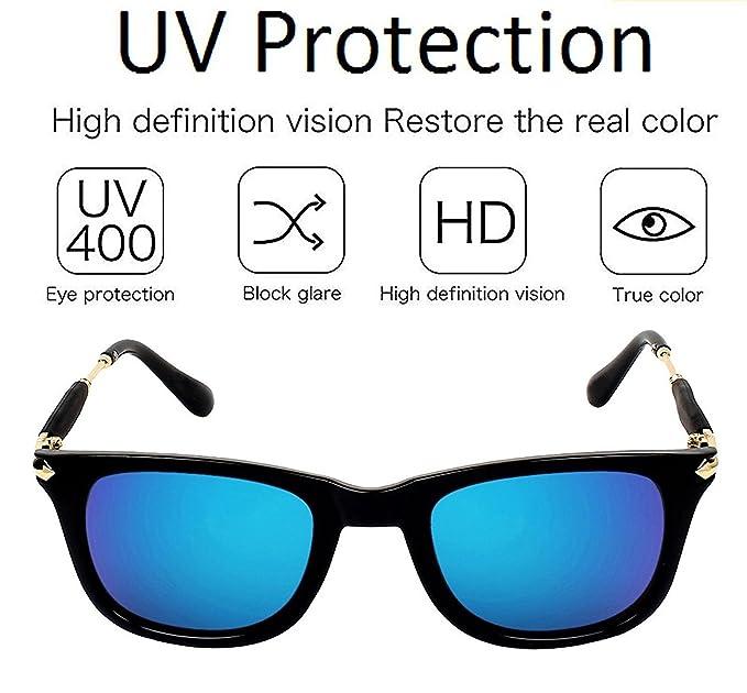 bdc471c1a5b REX Polarized UV400 Protected Wayfarer Square Unisex Sunglasses(H1GKR189