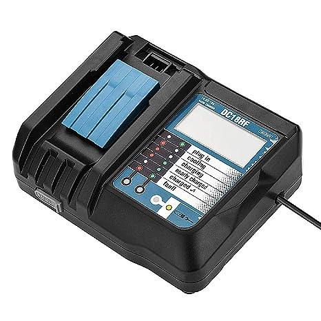 Amazon.com: DC18RF - Cargador de batería de iones de litio ...