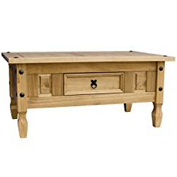 Home Discount Corona Coffee Table With Drawer