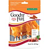 Good'n'Fun Triple Flavored Rawhide Wings for All Dogs