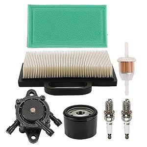 Mckin LA135 Tune Up Maintenance Service Kit fits John Deere LA120 LA130 LA140 LA150 L120 LA145 D130 D140 Lawn Mower Parts