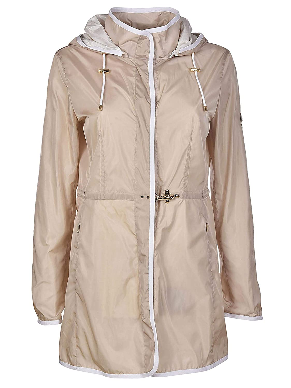 Fay Women's NAW50363270PFWC002 Beige Polyester Outerwear Jacket