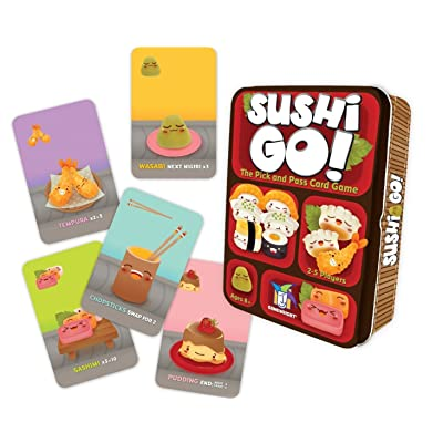 Sushi Go! - The Pick and Pass Card Game: Toys & Games