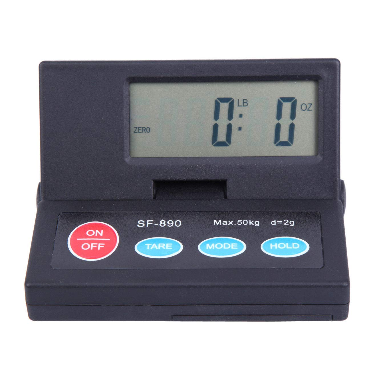 Paneltech 50/kg bilancia postale display LCD digitale bilancia postale con cavo USB e cavo estensibile Postage//pacco//spedizione//pacco bilancia