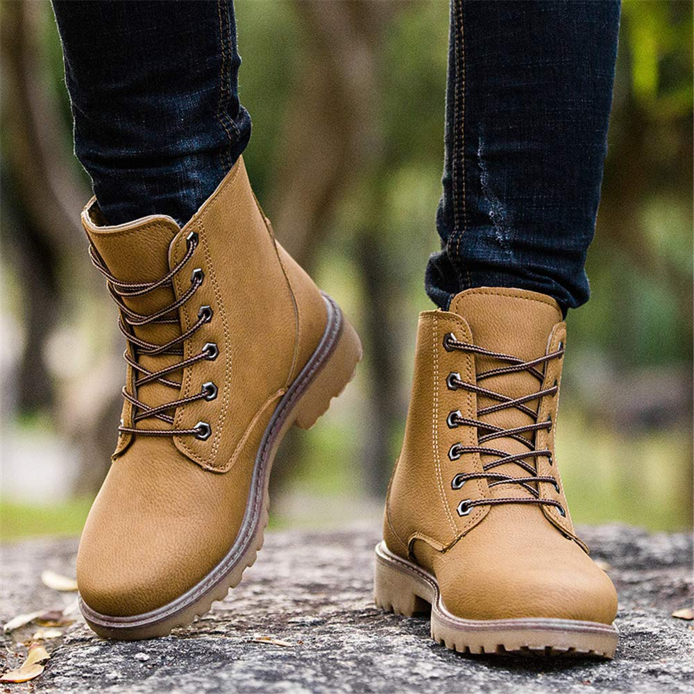 MIKA HOM Mens Light Assault Boot Combat Military Tactical Boots Inch Desert Boots