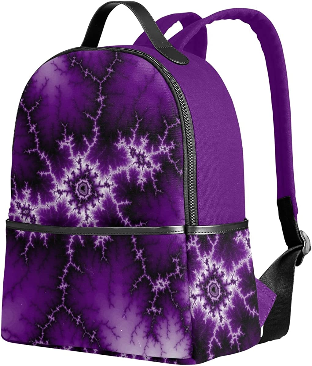 Mr.Weng Ganglia Printed Canvas Backpack For Girl and Children