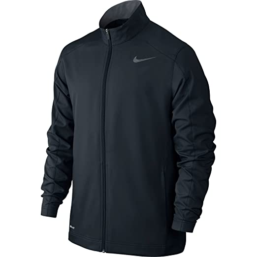 3ca932aa0c8c Amazon.com  Nike Men s Team Woven Jacket Black Cool Grey Size Small ...