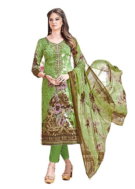 be3b0e188e BKRKJ Women's Jam cotton Lawn Fabric Unstitched Dress Material | Party Wear  New Summer Collection Premium