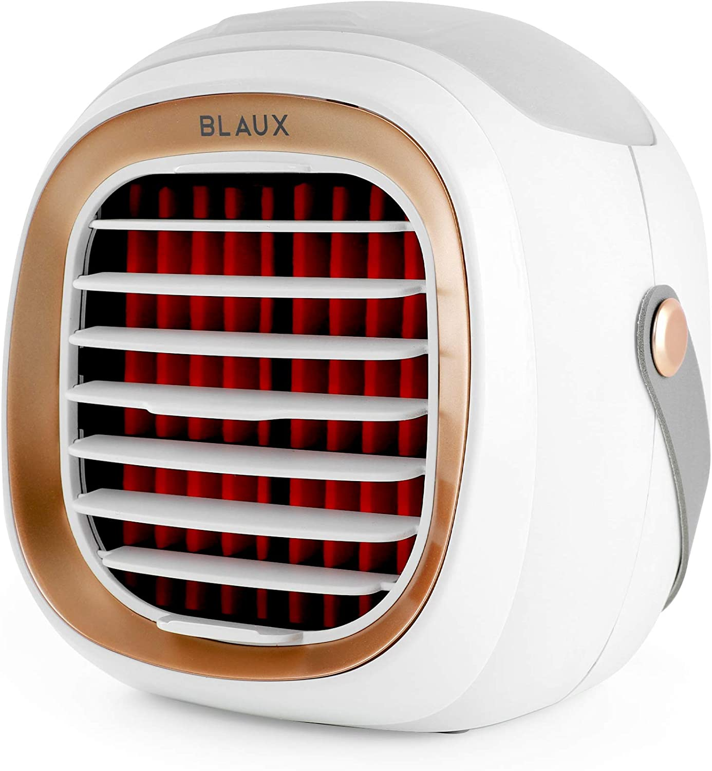 Best Powerful Rechargeable Mini Cooler: BLAUX Portable Small Fast Cooling Air Cooler For.