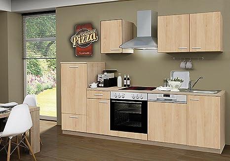 idealshopping Blocco cucina con lavastoviglie e piano cottura a ...
