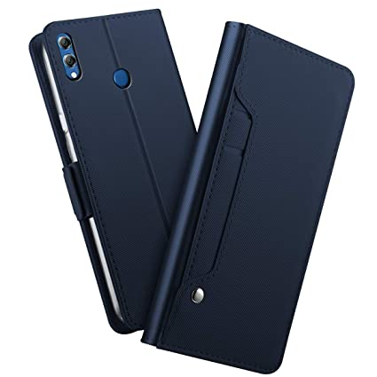 los angeles 49868 56e0a Amazon.com: AICEDA Huawei Honor 8X Max Wallet Case, [Folio Style ...
