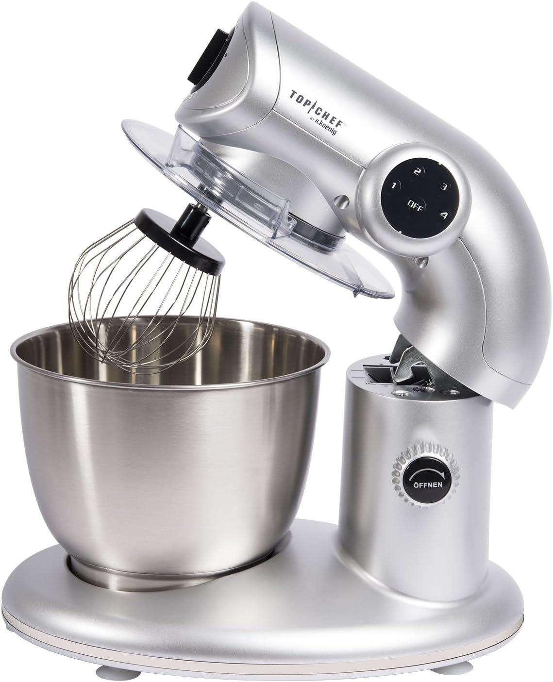 H. Koenig Top Chef topc416 Robot de cocina – Amasadora 1000 W: Amazon.es: Hogar