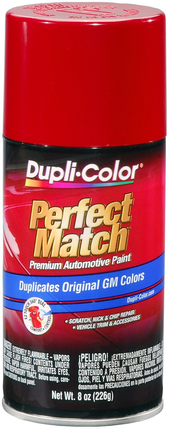 Amazon.com: Dupli-Color BGM0388 Bright Red General Motors Exact ...