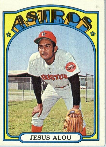 1972 Topps #716 Jesus Alou Houston Astros Baseball Card