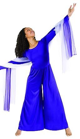 175804396a7 Amazon.com  Body Wrappers 569   569XX Womens Praise Long Sleeve ...