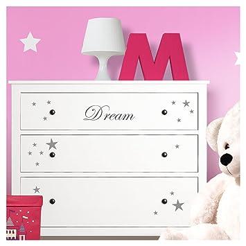 Grandora W5222 Wandtattoo Dream Sterne I Turkis I Passend Fur Ikea