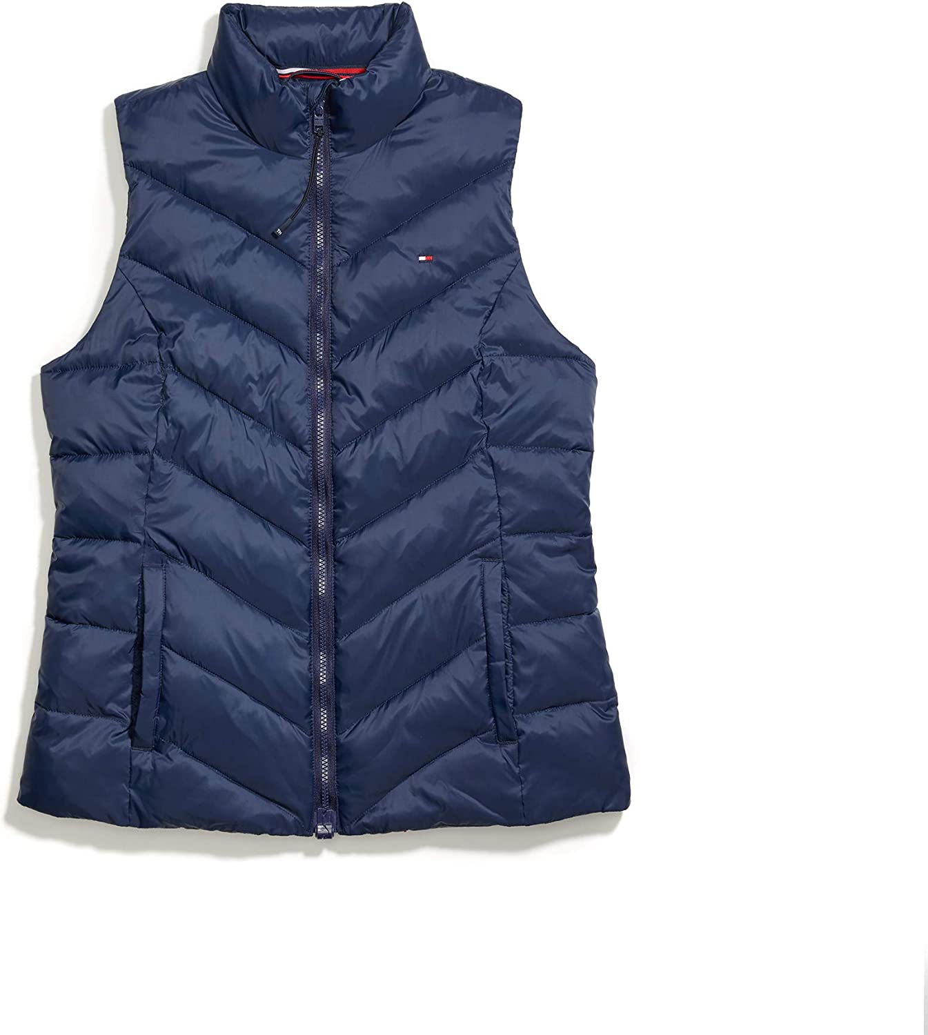 B07VCR4LMR Tommy Hilfiger Women's Adaptive Puffer Vest with Magnetic Zipper 71rsWLqA1SL