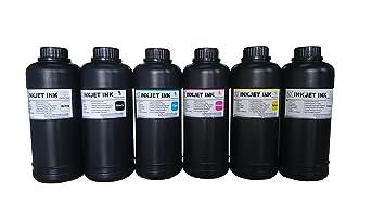 Amazon.com: 6 x 500ml ND marca premium LED UV Curable tinta ...