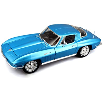 Maisto Die Cast 1:18 Scale 1965 Chevrolet Corvette (Colors May Vary): Toys & Games [5Bkhe1201816]