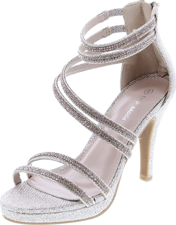 peep toe silver sandals