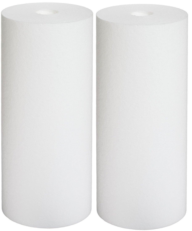 Pentek DGD-2501 Spun Polypropylene Filter Cartridge, 10'' x 4-1/2 (2, 4-1/2'' OD x 10'' Length)