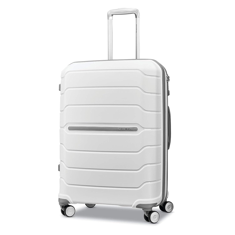 4ed77e8df Amazon.com | Samsonite Checked-Medium, White | Luggage