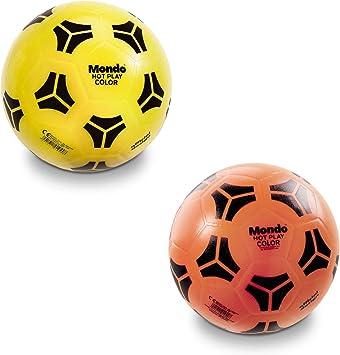 Mundo 01044 – Balón de fútbol D.230 Hot Play Color: Amazon.es ...