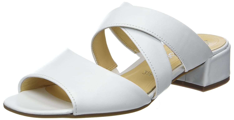 Gabor Shoes Gabor Fashion, Mules para Mujer 42 EU|Blanco (Weiss)
