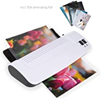 """Zoomyo 9"""" hot & cold laminator Z9-5 warms up in just 3 to 5 minutes"""