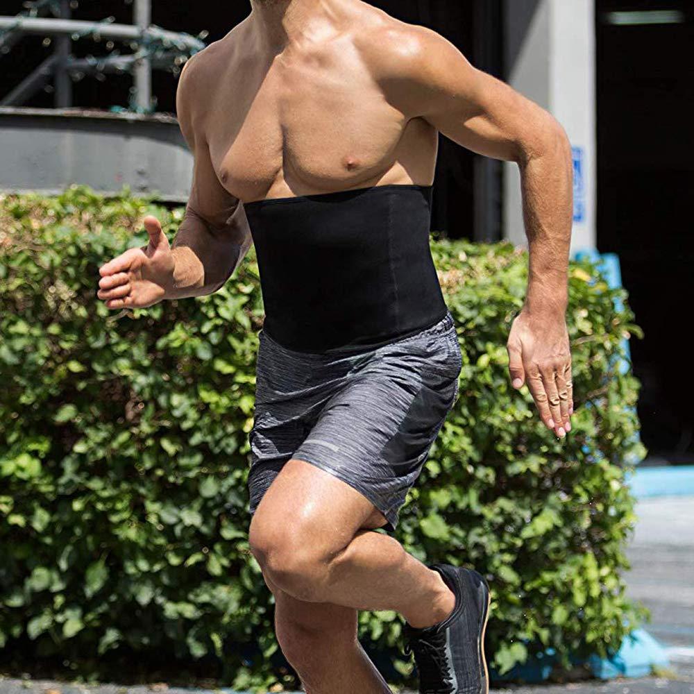 Homme Serre Taille Corset Sculptant Ceinture Ventre Plat Lingerie Invisible Gaine Minceur Skinny Body Shaper Sport Fitness Gym Course Dihope