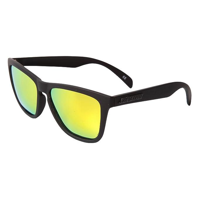Gafas Santa Cruz: Strip M.Black/ Hazard Orange BK/MC: Amazon ...