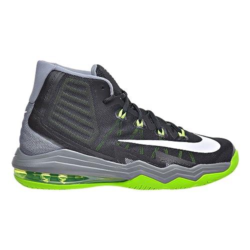 Zapatillas de baloncesto Nike Air Max Audacity 2016, negras / blancas, frescas, grises, elšŠctricas 12 hombres EE. UU.: Amazon.es: Zapatos y complementos