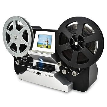 Super 8 Roll Film & Regular 8 Roll Film Reels Scanner(5