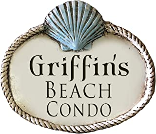 product image for Piazza Pisano Beach House Shell Personalized Sign