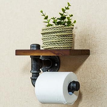 Wand Saug Holz Wc Papierhalter Klebstoff 3m Selbstklebend Toilettenpapierhalter Ohne Bohren A