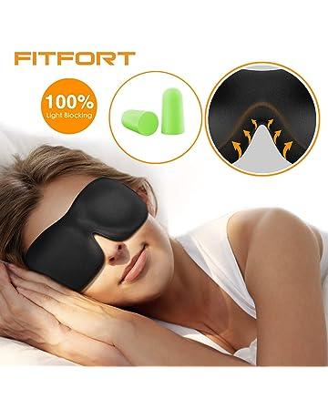 eee79dc7f83cae FITFORT Premium Schlafmaske 3D Schlafbrille - Augenmaske für Frauen    Herren Schlafen Bequem und Weich 100