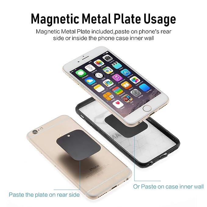 Amazon.com: evach teléfono, soporte de anillo, anillo de ...