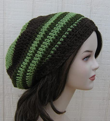 75521d614a3 Image Unavailable. Image not available for. Color  Handmade Slouchy Beanie  ...