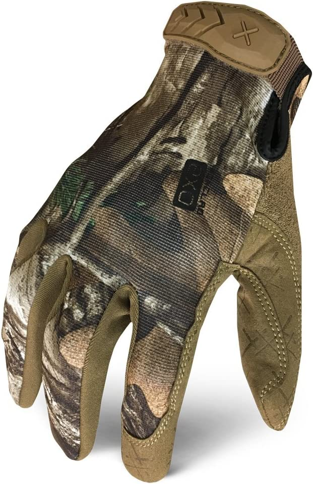 best hunting gloves: Ironclad EXOT-RTP-06-XXL Realtree Pro Work Gloves