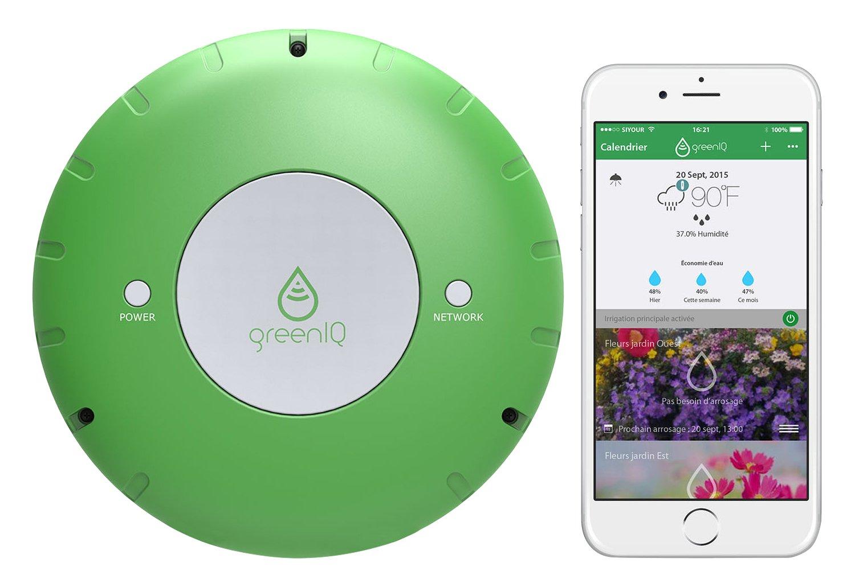 Green IQ programmateur jardin connecté