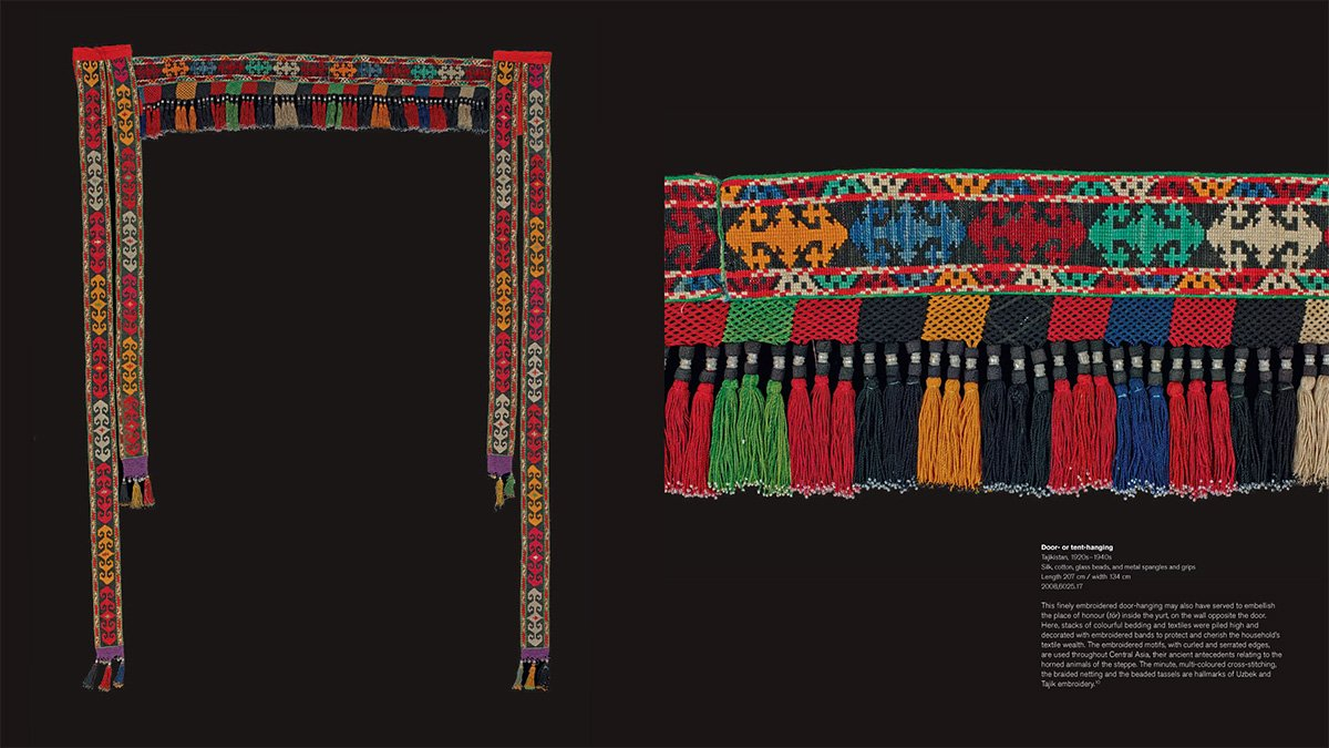Textiles of the Middle East and Central Asia: The Fabric of Life by THAMES HUDSON (Image #8)