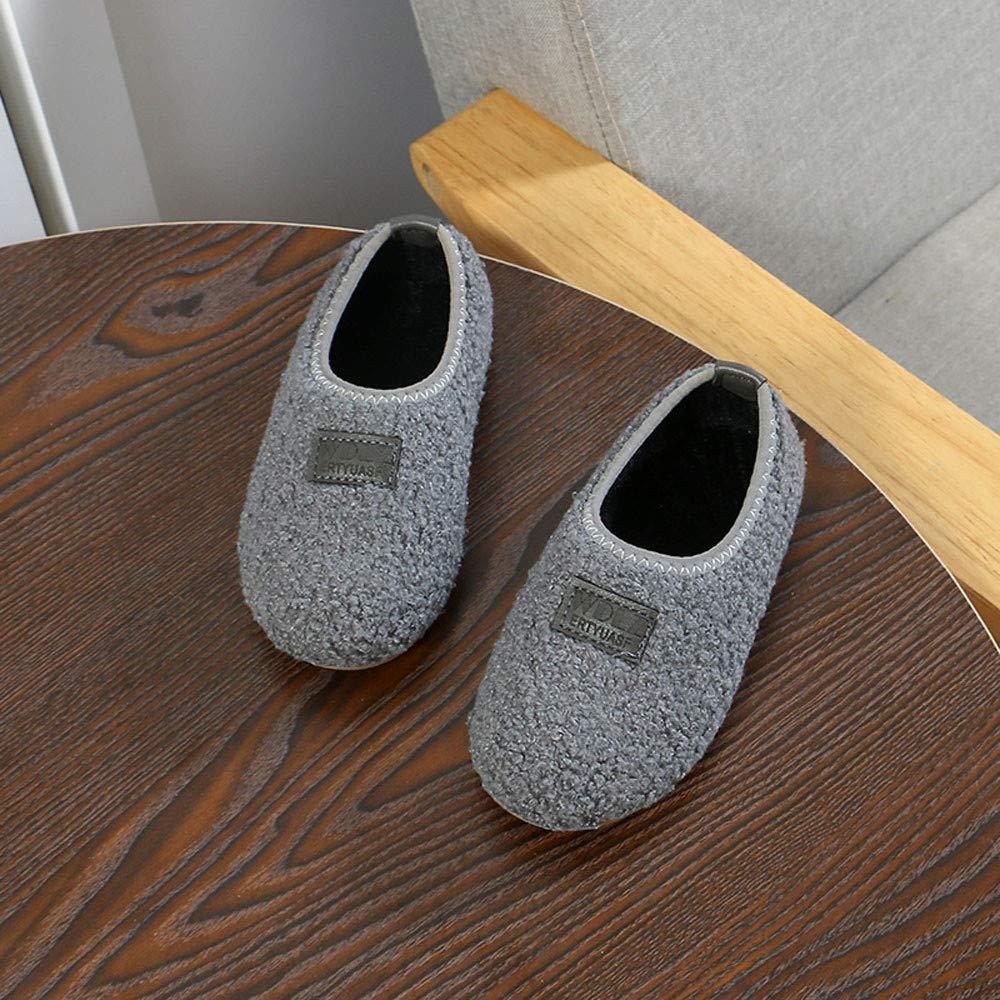 Little Kid//Big Kid Lurryly❤Baby Soft Sole Warm Winter Slip On Prewalker Anti-Slip Snow Boots