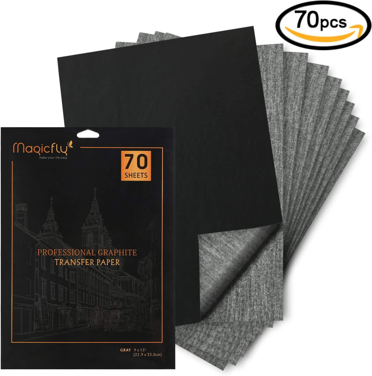 WEKON 100 Hojas Papel de Transfer Copia A4 Papel Carbono Transferencia para Madera Papel Lienzo