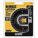 Lâmina de ferramenta oscilante Dewalt para remoção de argamassa, corte rápido, carboneto (DWA4220)